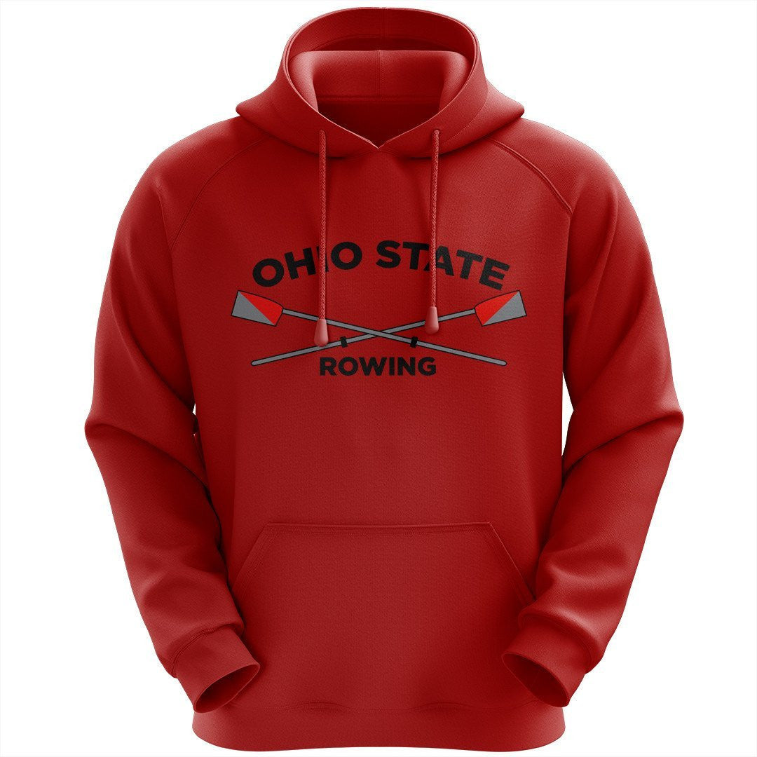 50/50 Hooded Ohio State Rowing Pullover Sweatshirt