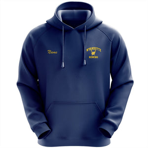 50/50 Hooded Wyandotte Rowing Pullover Sweatshirt