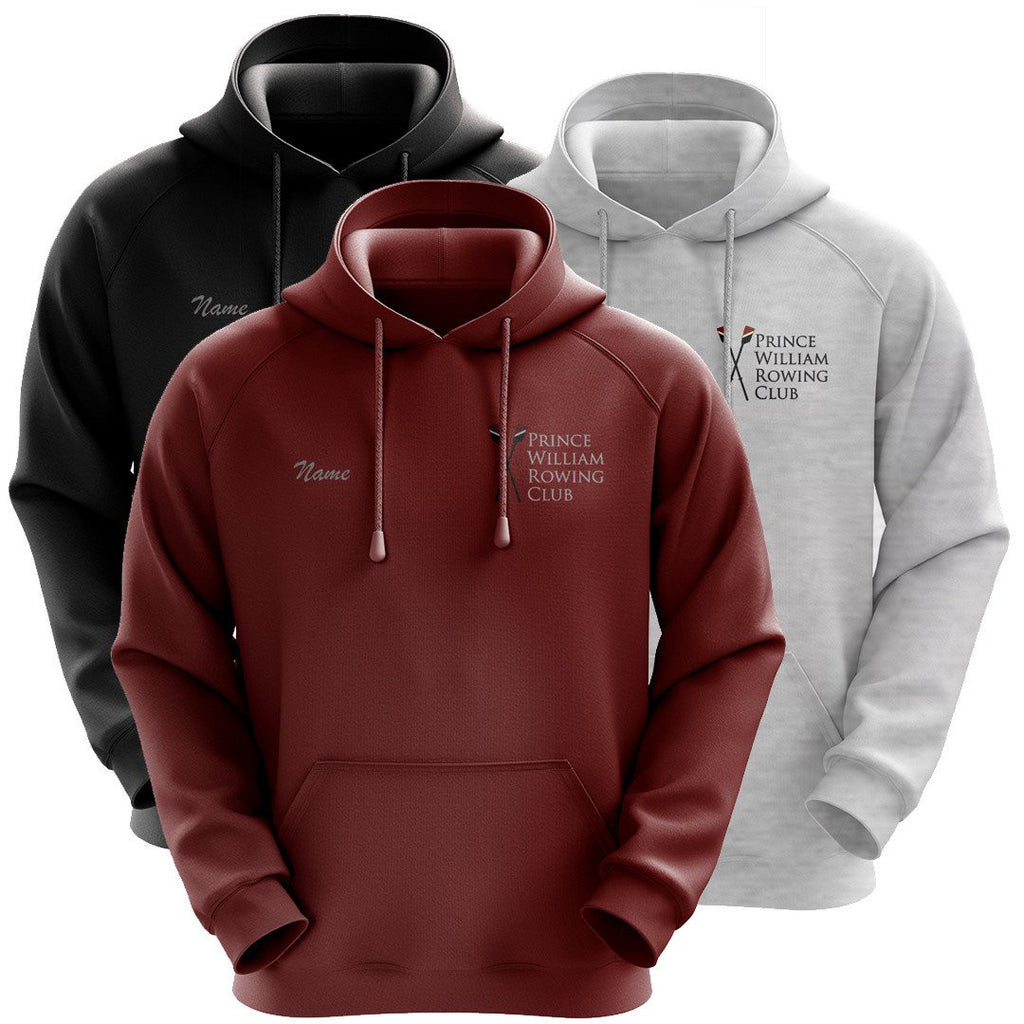50/50 Hooded Prince William Rowing Club Pullover Sweatshirt