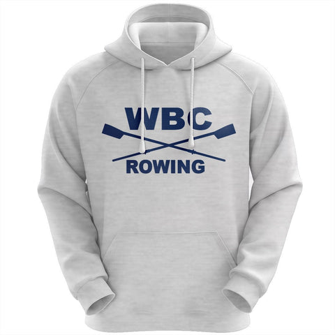 50/50 Hooded Williamsburg Boat Club Pullover Sweatshirt