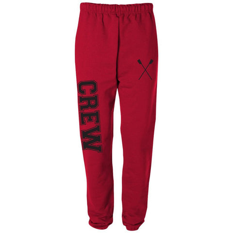 Sew Sporty Crew Sweatpants (Red)