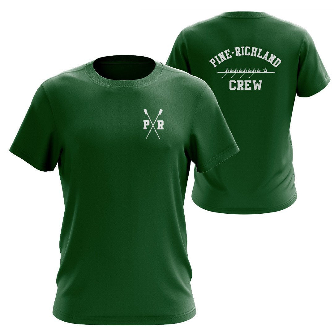 100% Cotton Pine Richland Crew Men's Team Spirit T-Shirt