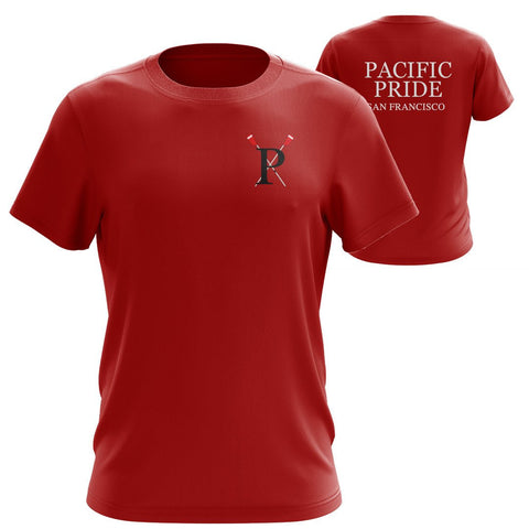 100% Cotton Pacific Rowing Men's Team Spirit T-Shirt