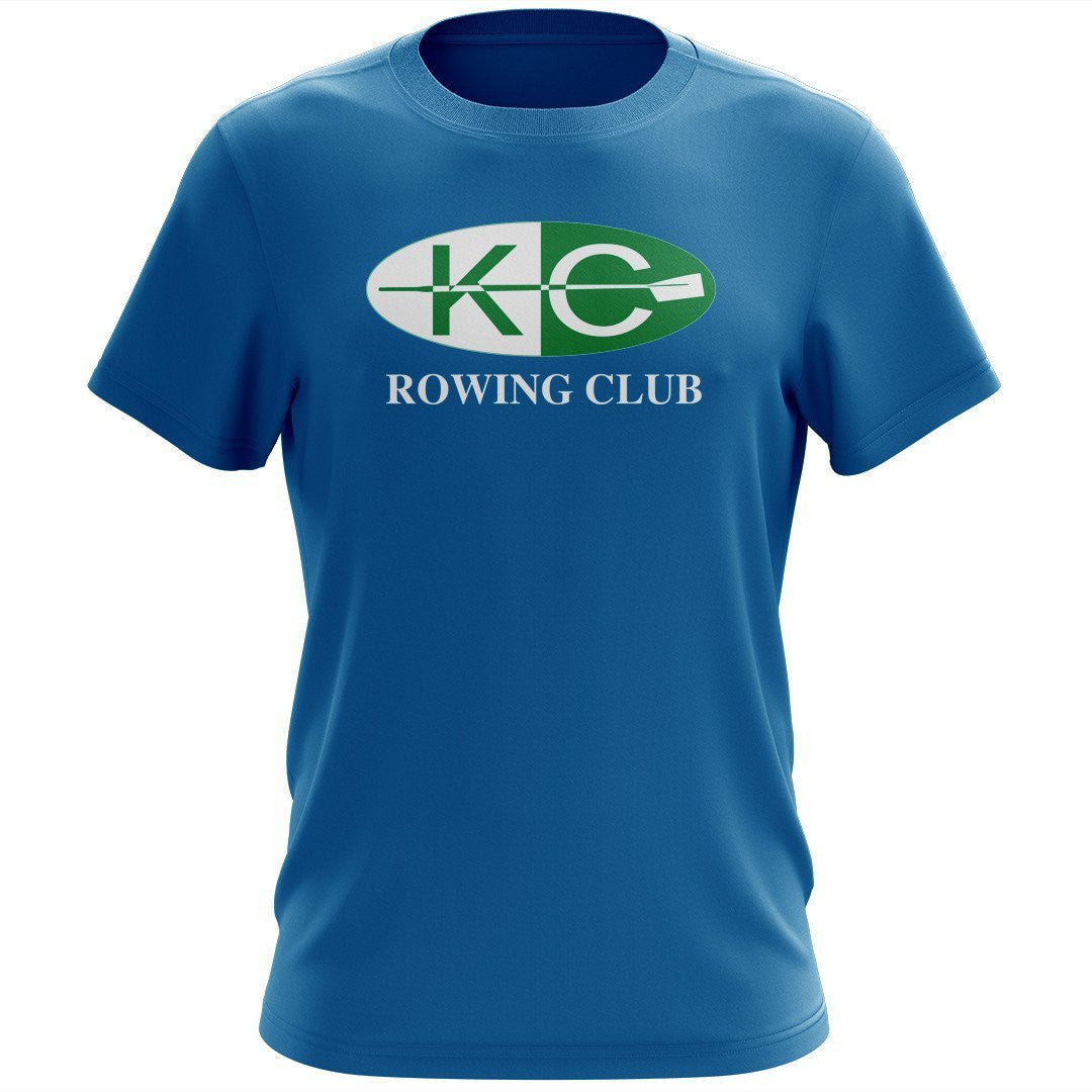 100% Cotton Kansas City Rowing Club Men's Team Spirit T-Shirt
