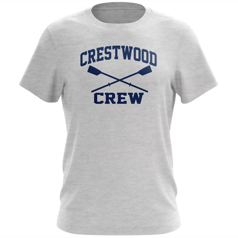 100% Cotton Crestwood Crew Men's Team Spirit T-Shirt