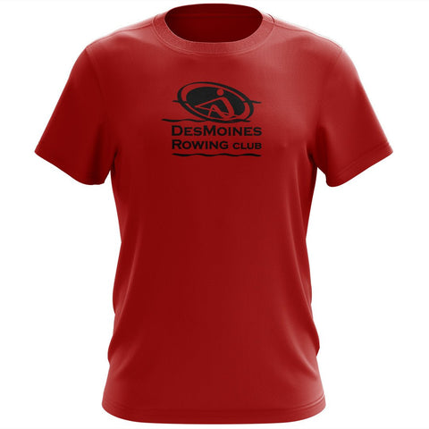 100% Cotton Des Moines Rowing Club  Men's Team Spirit T-Shirt