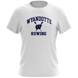 100% Cotton Wyandotte Rowing Men's Team Spirit T-Shirt