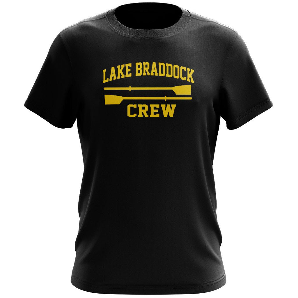 100% Cotton Lake Braddock Crew Men's Team Spirit T-Shirt