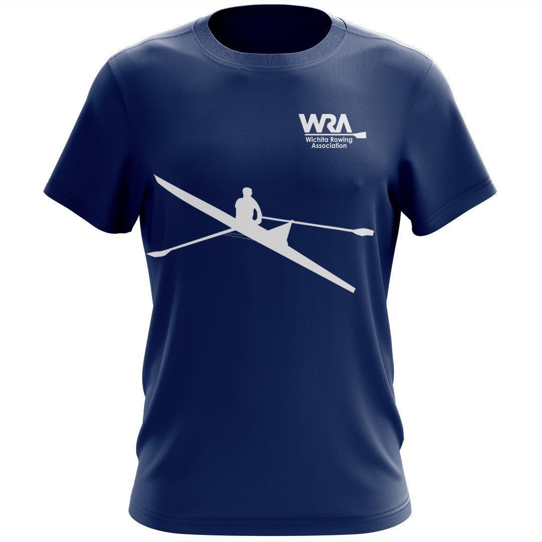 100% Cotton Wichita Rowing Association Team Spirit T-Shirt