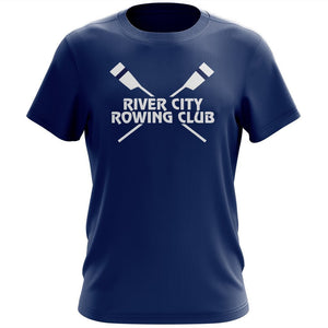 100% Cotton  River City Rowing Club Team Spirit T-Shirts