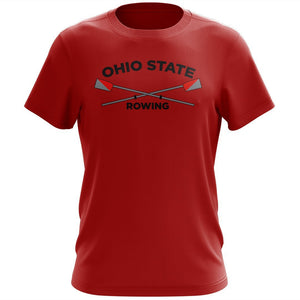 100% Cotton Ohio State Rowing Men's Team Spirit T-Shirt