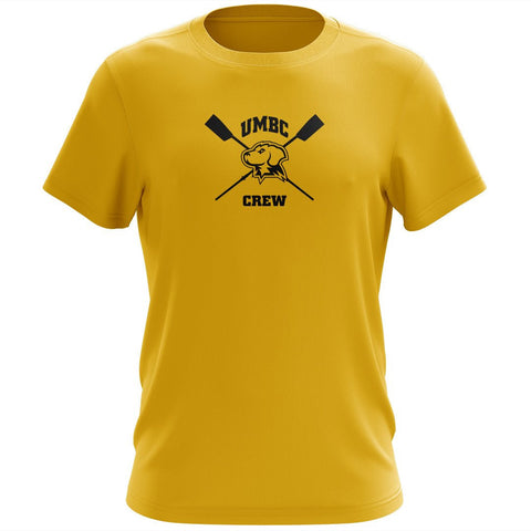 100% Cotton UMBC Crew Men's Team Spirit T-Shirt