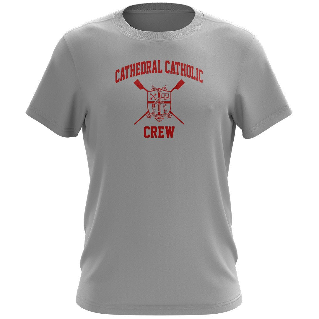 100% Cotton Cathedral Catholic Crew Men's Team Spirit T-Shirt