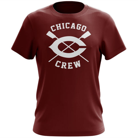 100% Cotton University of Chicago Crew Men's Team Spirit T-Shirt