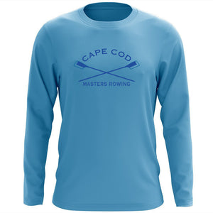 Custom Cape Cod Masters Rowing Long Sleeve Cotton T-Shirt