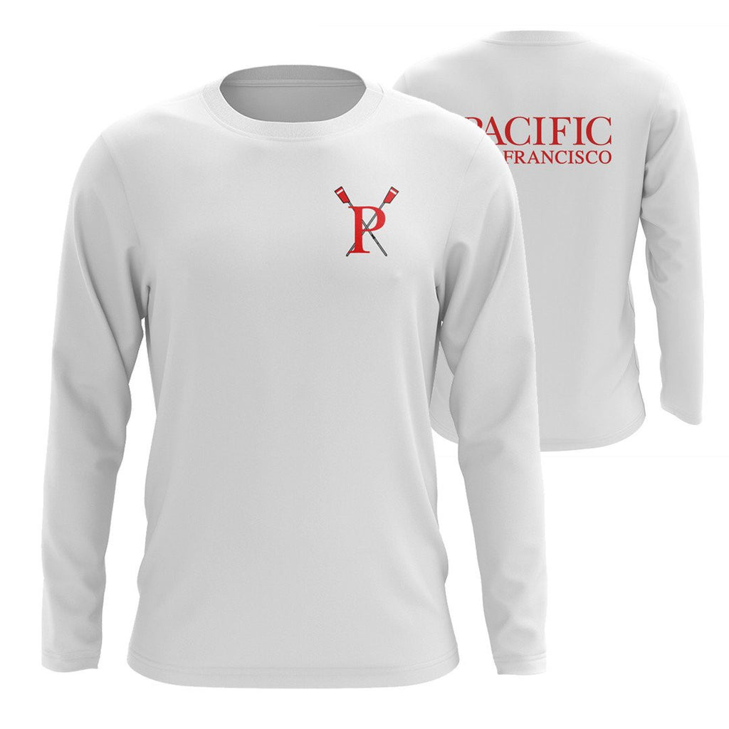Custom Pacific Rowing Long Sleeve Cotton T-Shirt