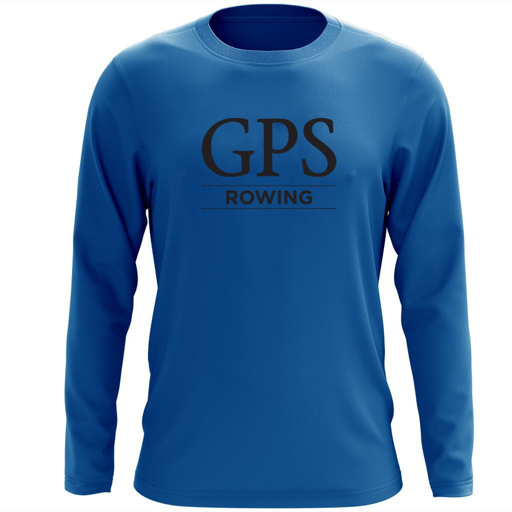 Custom Girls Prep School Crew Long Sleeve Cotton T-Shirt