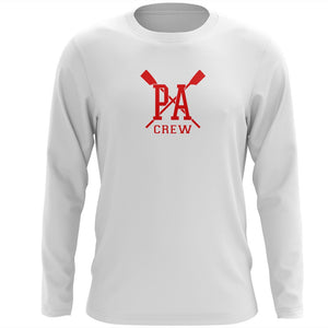 Custom Princess Anne Crew Long Sleeve Cotton T-Shirt
