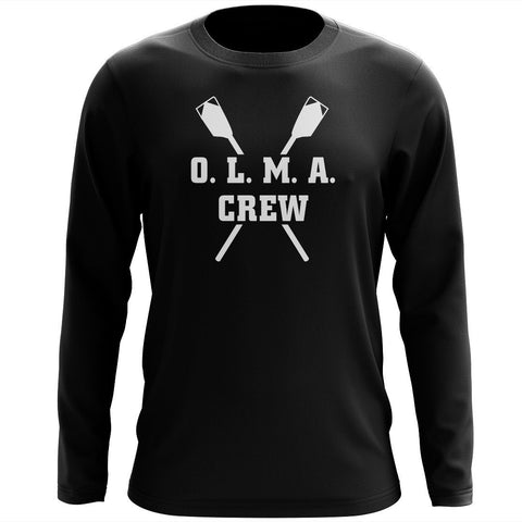 Custom OLMA Rowing Gear Long Sleeve Cotton T-Shirt