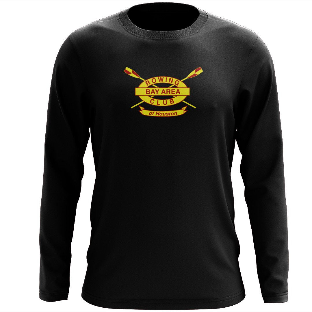 Custom Bay Area Rowing Club Long Sleeve Cotton T-Shirt