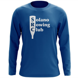 Custom Solano Rowing Club Long Sleeve Cotton T-Shirt