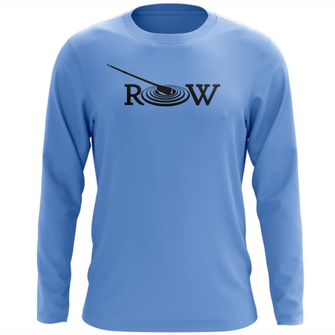Custom R.O.W. Long Sleeve Cotton T-Shirt