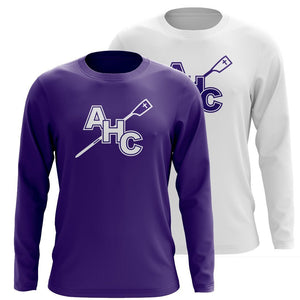 Custom Academy of the Holy Cross Crew Long Sleeve Cotton T-Shirt