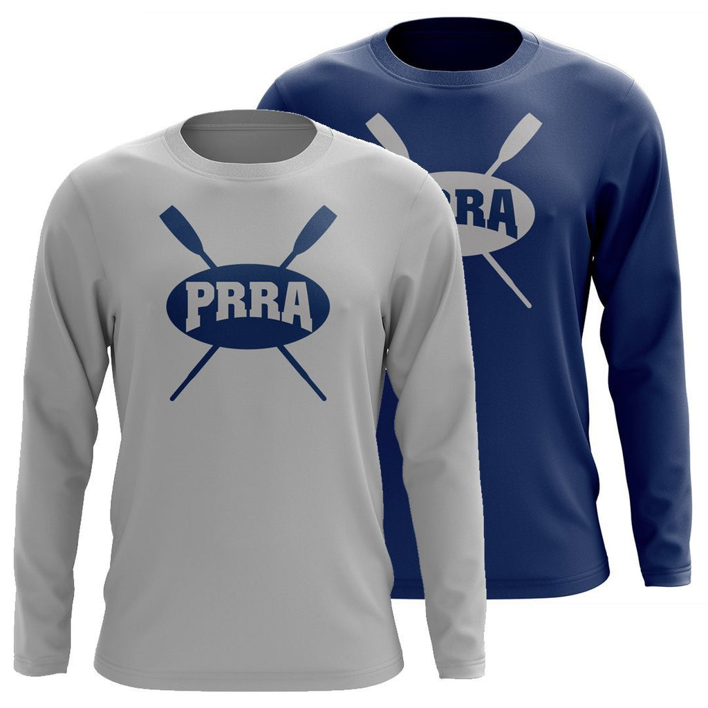 Custom Passaic River Rowing Association Long Sleeve Cotton T-Shirt
