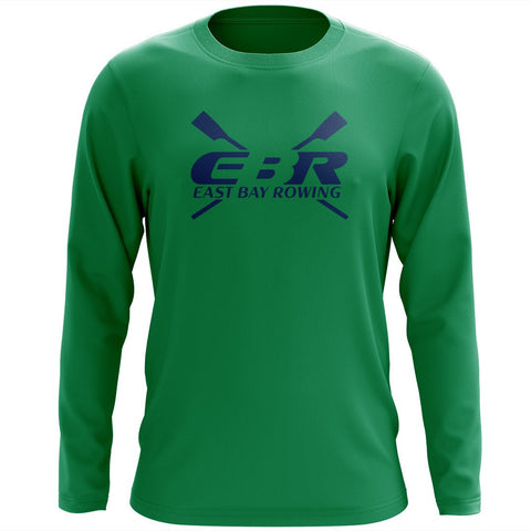 Custom East Bay Rowing Long Sleeve Cotton T-Shirt