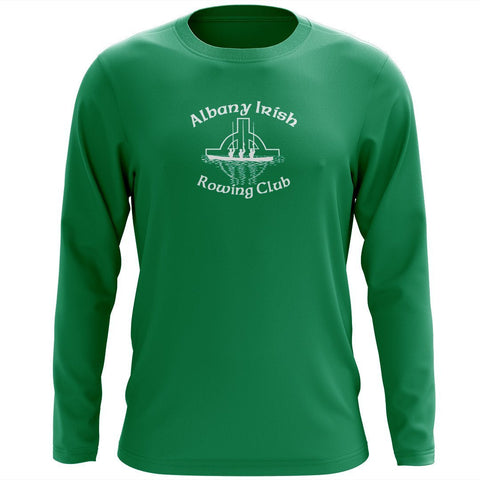 Custom Albany Irish Rowing Club Long Sleeve Cotton T-Shirt