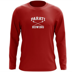 Custom Parati Rowing Long Sleeve Cotton T-Shirt