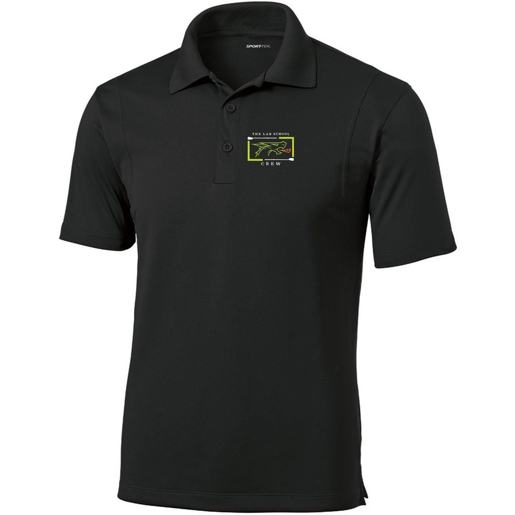 The Lab School Rowing Embroidered Performance Men's Polo