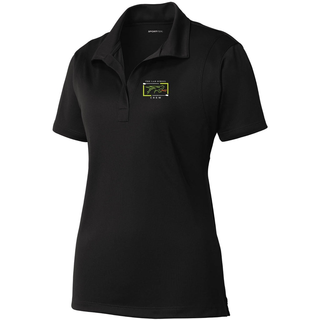 The Lab School Rowing Embroidered Performance Ladies Polo