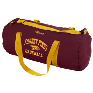 Torrey Pines Baseball Duffel Bag