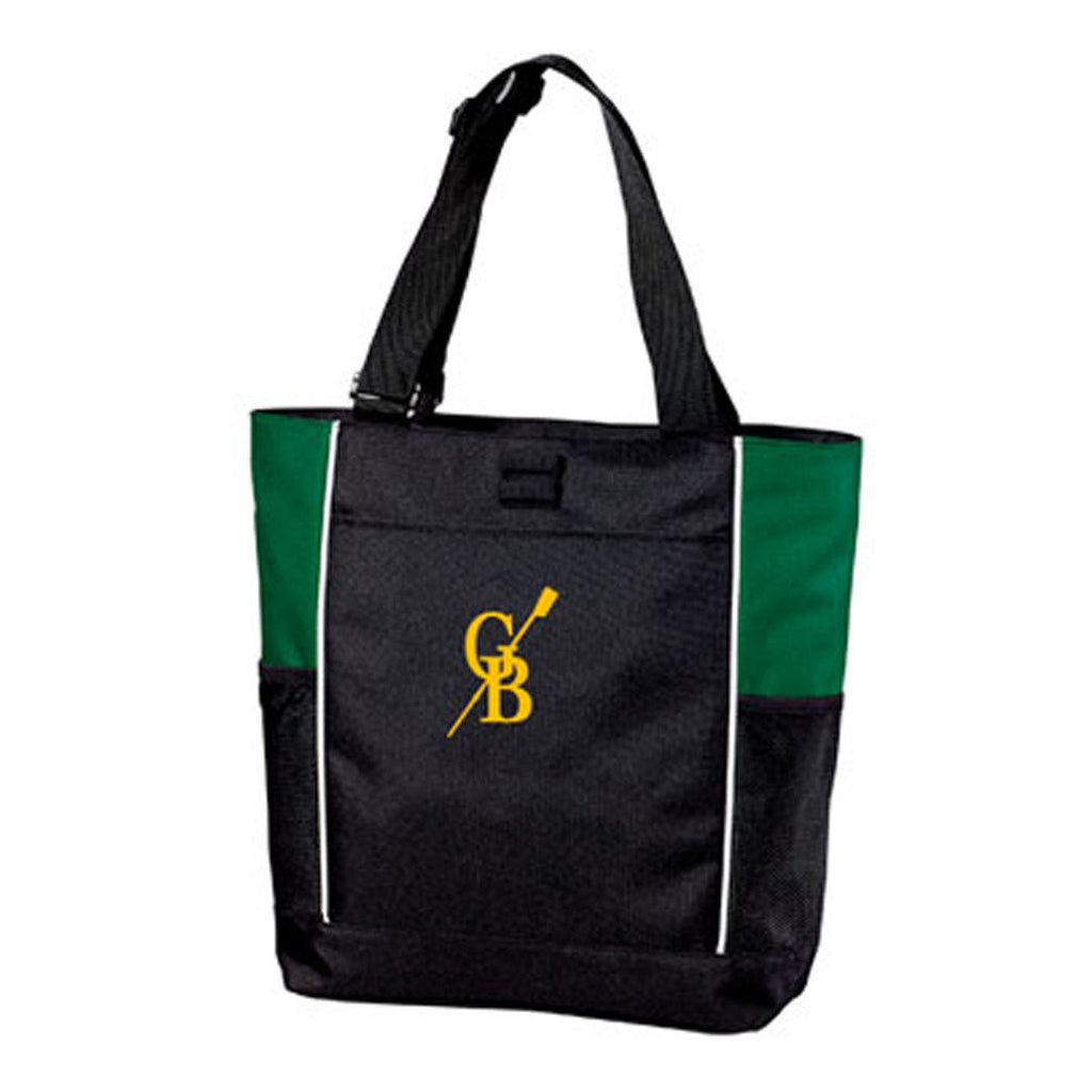 Great Bridge Crew forest /black tote