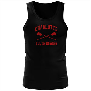 100% Cotton Charlotte Youth Rowing Club Tank Top