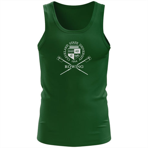 100% Cotton Cleveland State University Rowing Tank Top