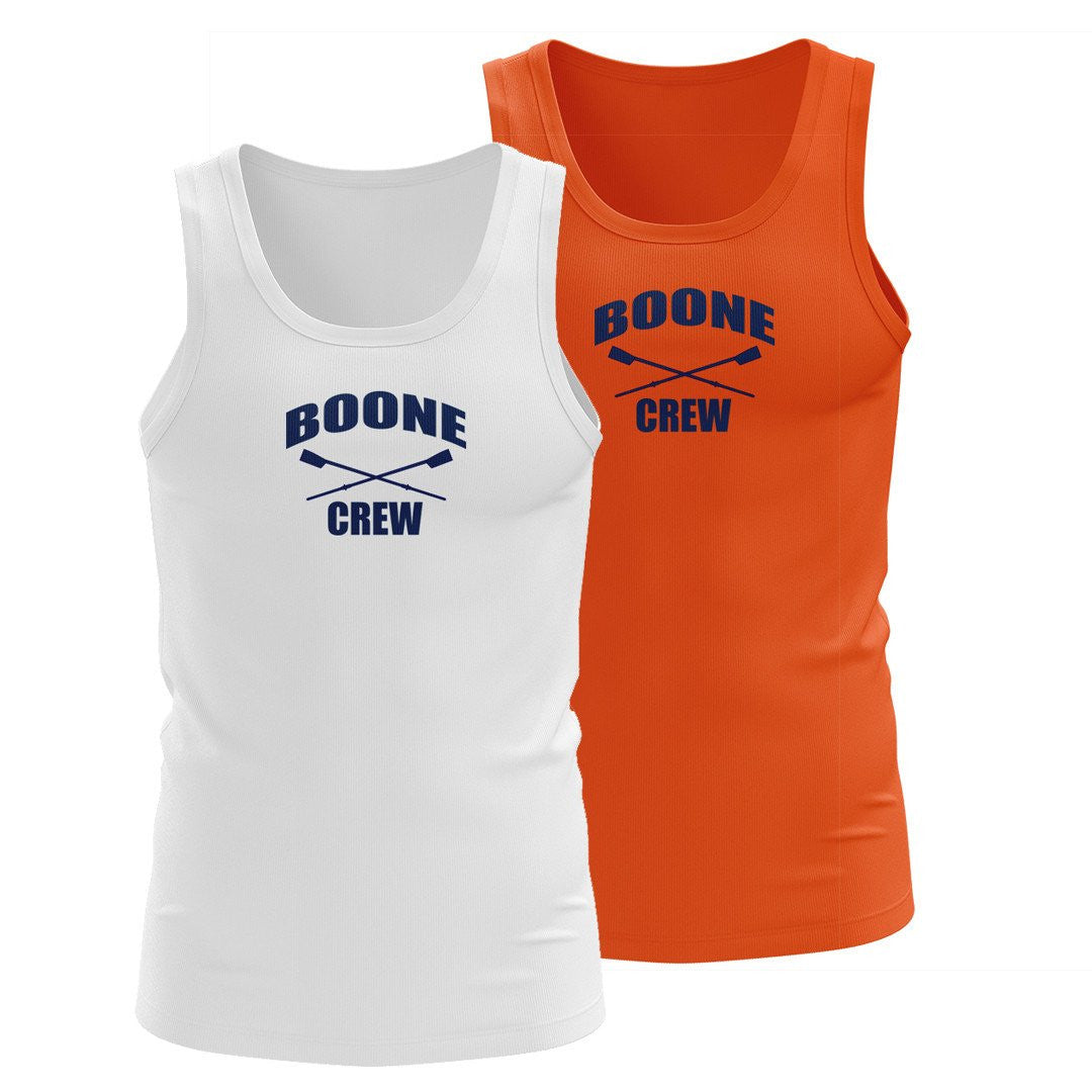100% Cotton Boone Crew Tank Top