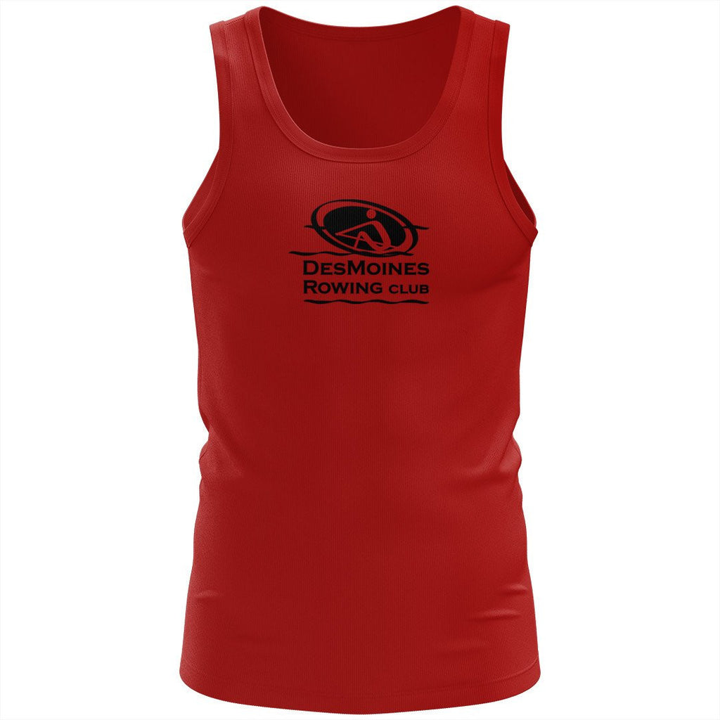 100% Cotton Des Moines Rowing Club  Tank Top