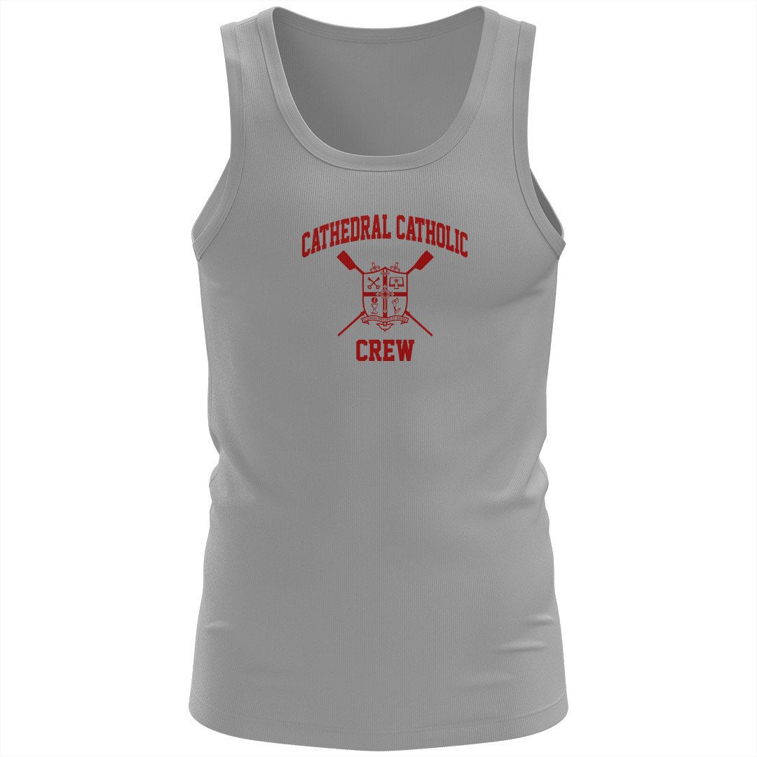100% Cotton Cathedral Catholic Crew Tank Top