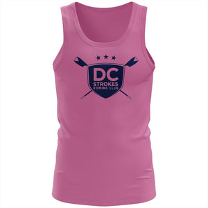 100% Cotton DC Strokes Rowing Club Tank Top