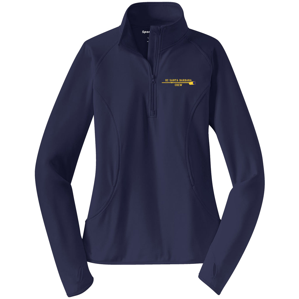 UCSB Ladies Performance Pullover w/ Thumbhole