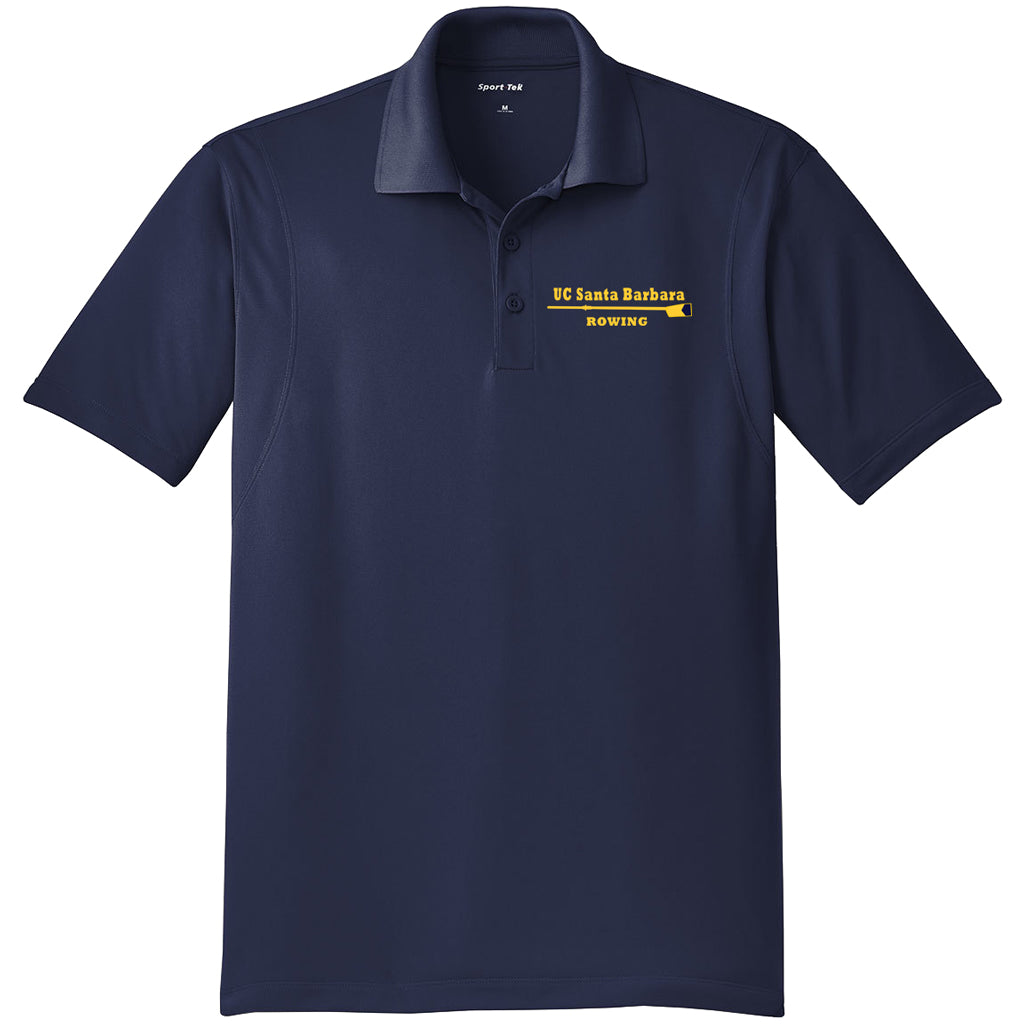 UCSB Embroidered Performance Men's Polo