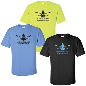 100% Cotton Vashon Crew Men's Team Spirit T-Shirt