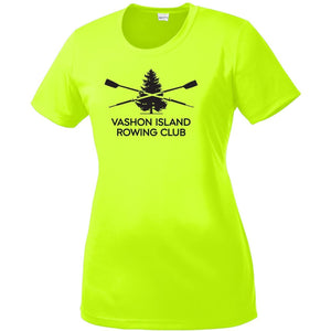 Vashon Crew Women's Hi-Viz Performance T-Shirt