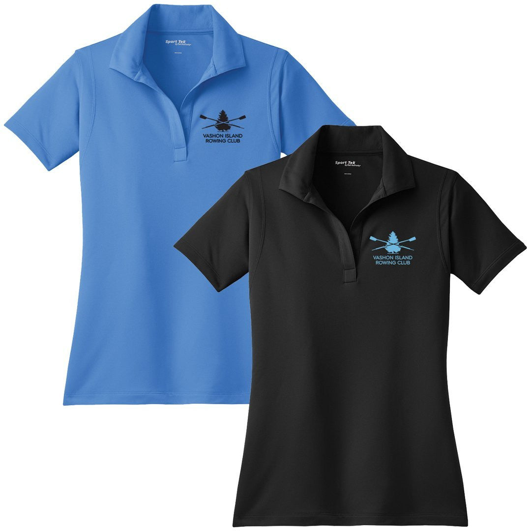 Vashon Crew Embroidered Performance Ladies Polo