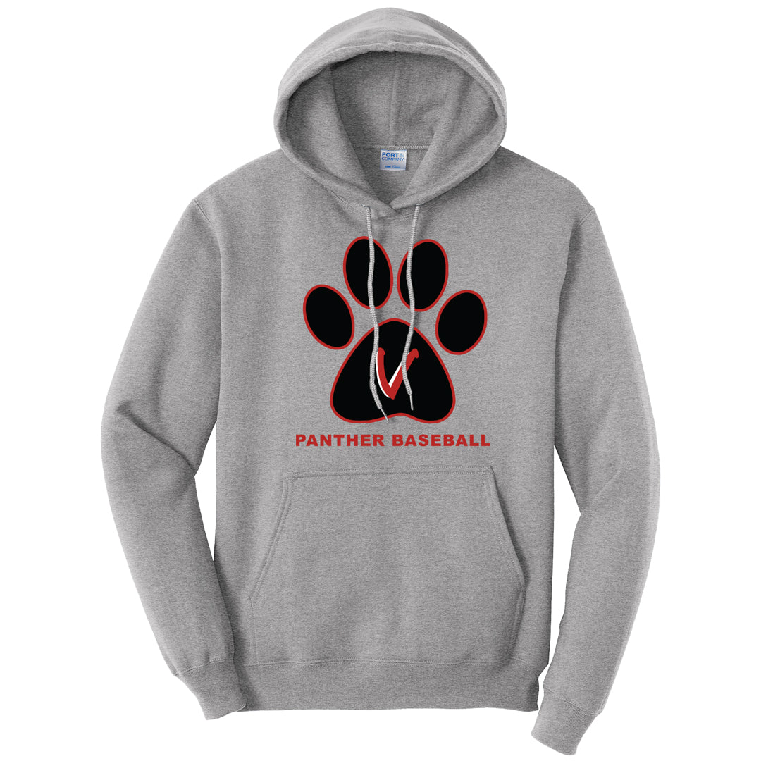 Vista Baseball Paw Print Hooded Sweatshirt