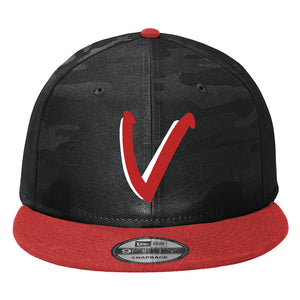 Vista Baseball New Era Trucker Black Camo Cap