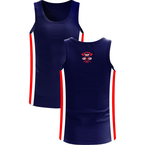 Wappingers Crew Club Men's Traditional Dryflex Spandex Tank