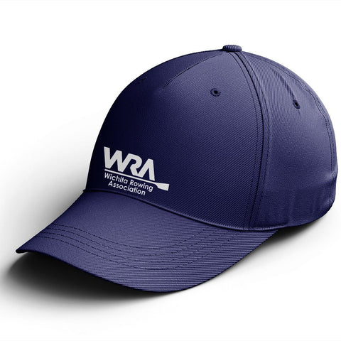 Official Wichita Rowing Association Cotton Twill Hat